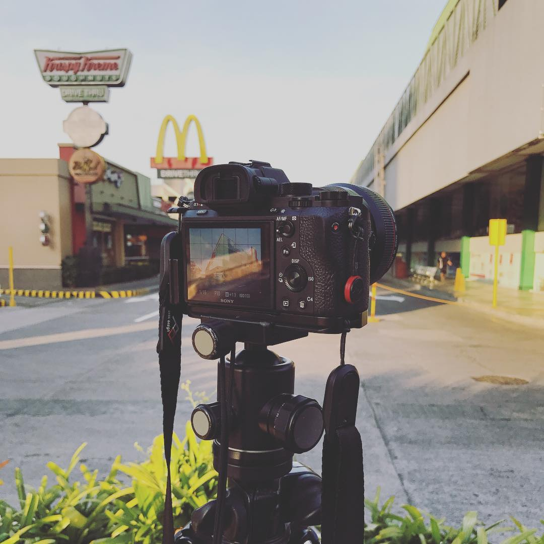 Shooting Architecture is one of our favorites. Today is the start of our week long shoots for a commercial real estate developer here in metro manila. . . #work #photoshoot #bts #imagesmithph