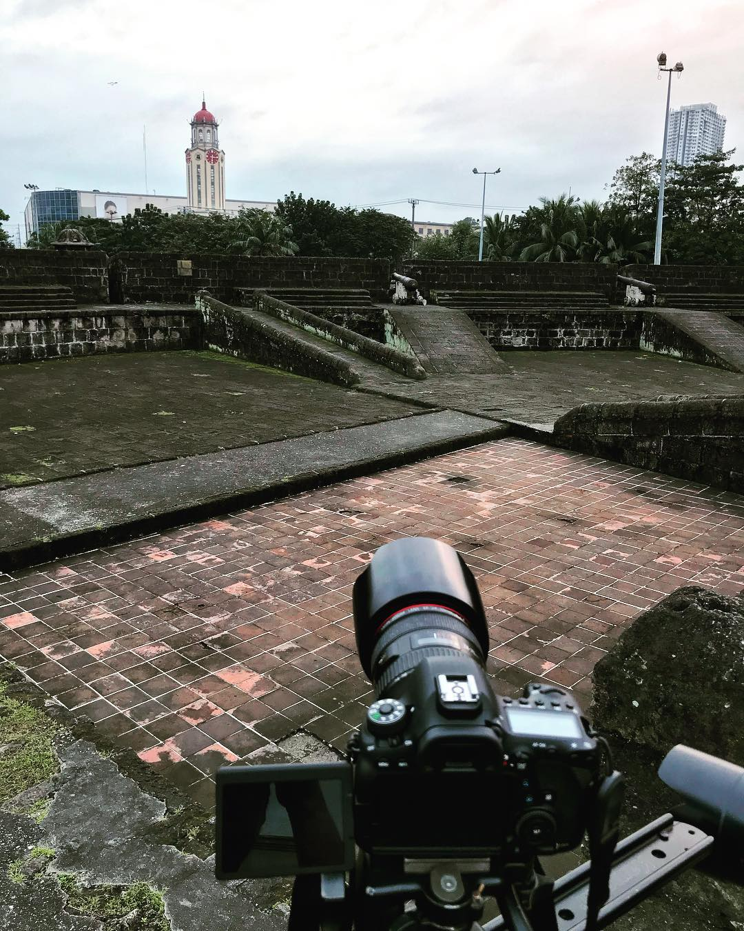 Hello #Intramuros #Manila! Video shoot today!