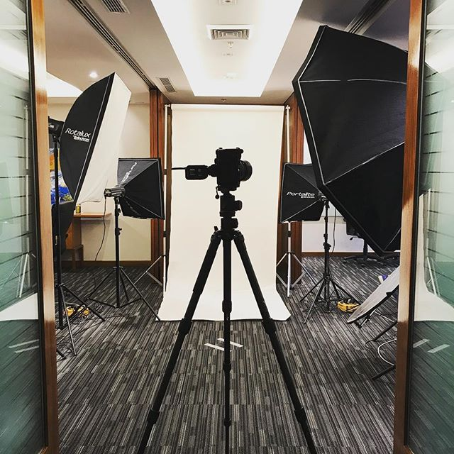 Portraits setup now #imagesmithph #studio #work #shoot #photoshoot #makati #portraits #philippines #bts #behindthescenes