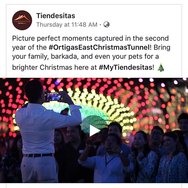 Our event video work for #Tiendesitas is now online. Kindly visit their FB page.  #video #eventvideo #mytiendesitas #ortigasph #imagesmithph #pasig #philippines
