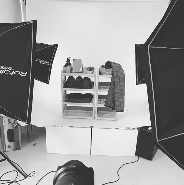 Test shot, test shot. We are shooting some new products from one of our suki clients.  #bts #work #photoshoot #manila #behindthescenes #photography #productshoot #imagesmithph